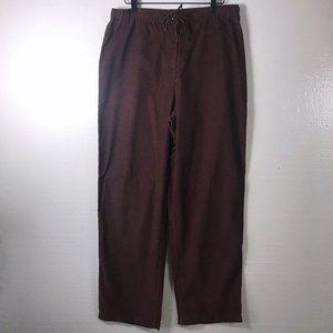 J. Jill Size Medium Purple Corduroy Pull On Pants